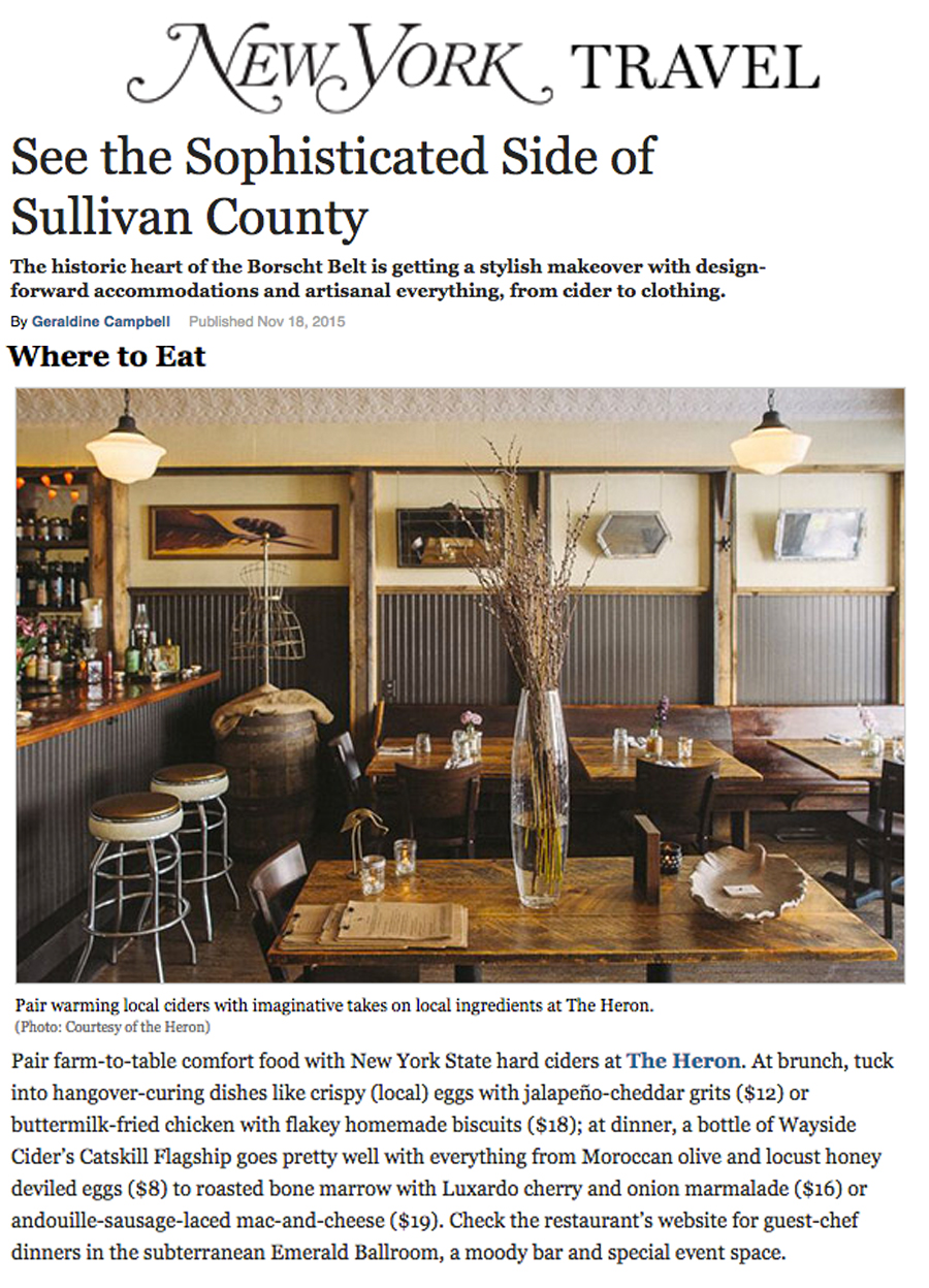 New york sullivan county narrowsburg - Great Article On Sullivan County Thanks New York Magazine