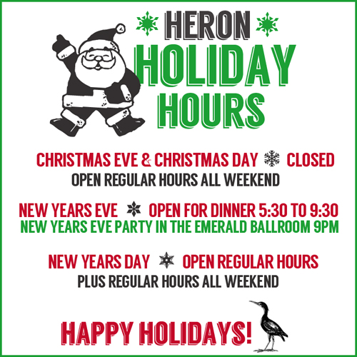 holiday hours for web