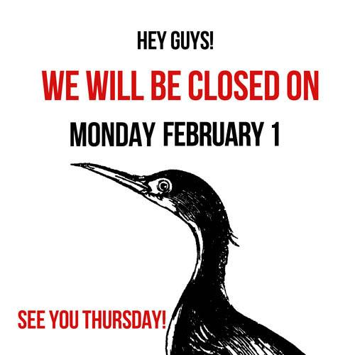 closedmonday_feb1