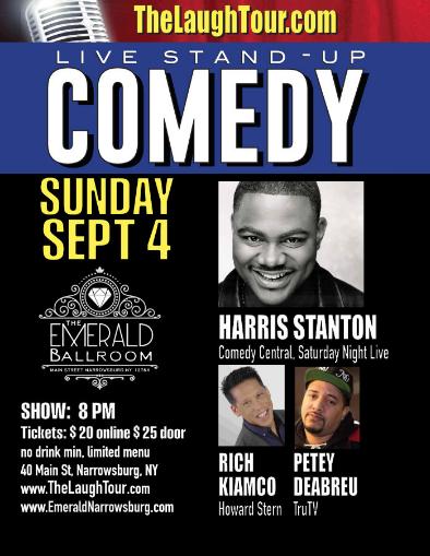 Comedy Sept 4