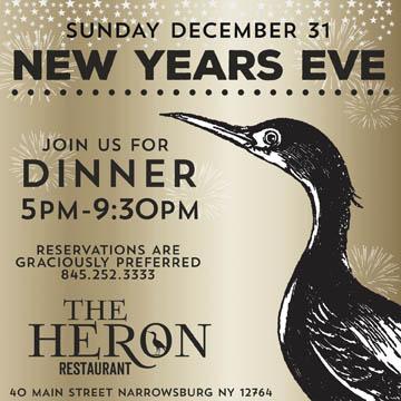 The Heron Restaurant Narrowsburg Ny