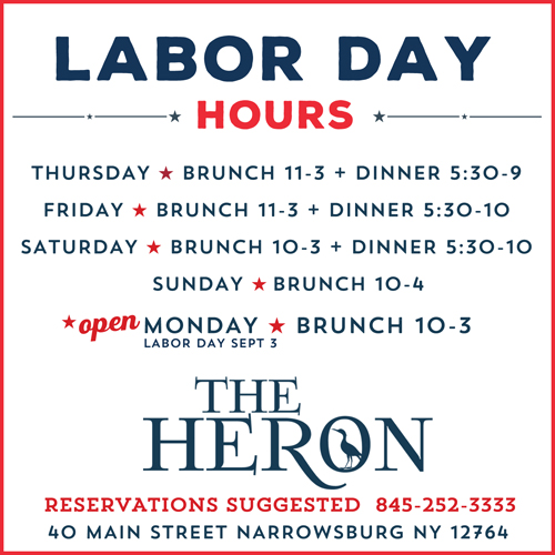 8c877bbf8f Labor Day Weekend is here! Don't miss live music by Rare Form on Saturday  night – we'll be open regular hours all weekend PLUS brunch on Monday Sept  3 !